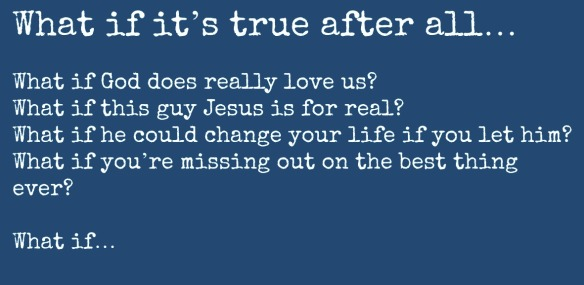 what if its true 1